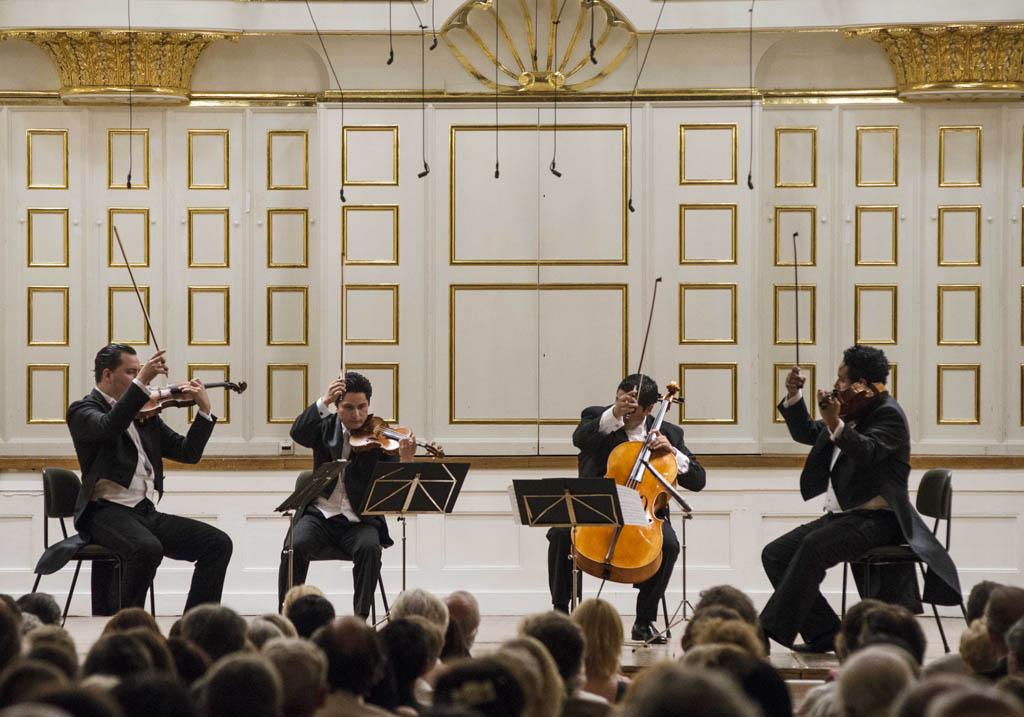 El Sistema • Chamber concert • Simón Bolívar String Quartet  © Silvia Lelli