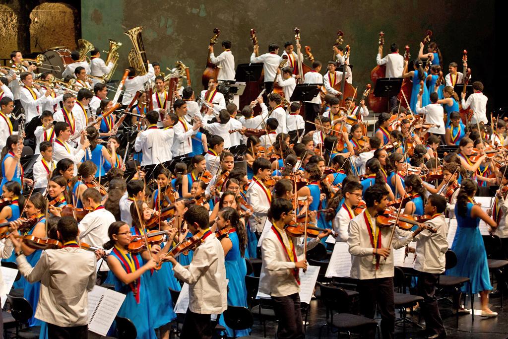 El Sistema • National Children's Symphony Orchestra of Venezuela © Silvia Lelli