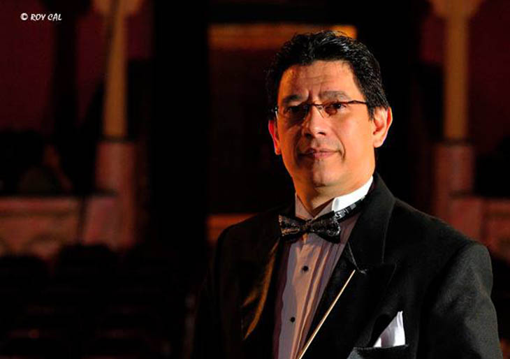 Víctor Mata dirige Vivaldi en Panamá