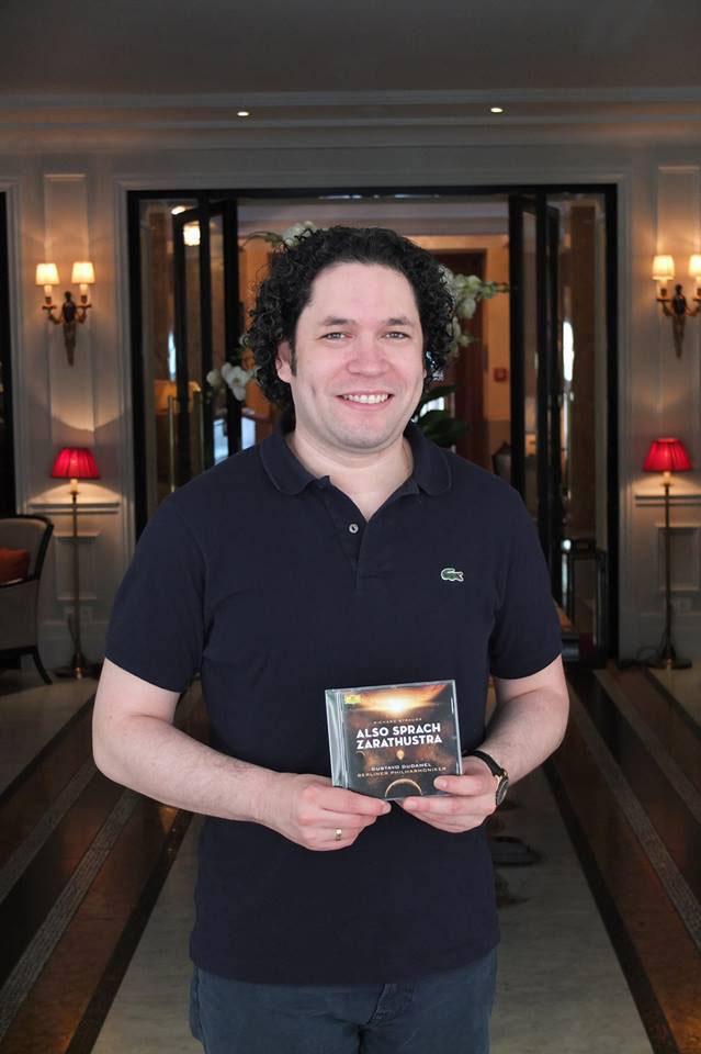 Gustavo Dudamel presenta su más reciente disco