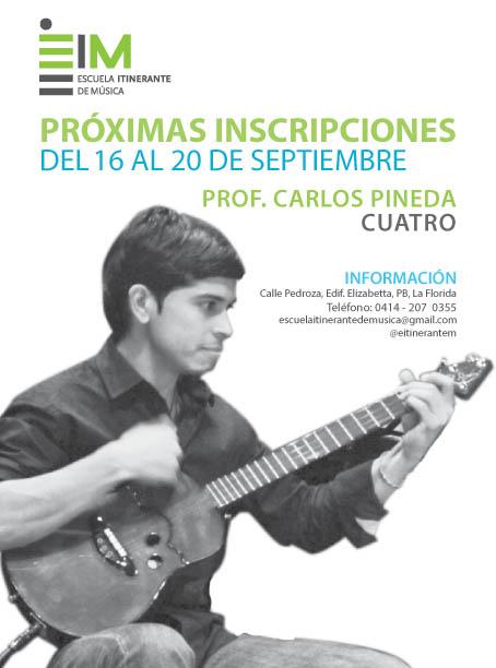 Escuela Itinerante de Música abre inscripciones