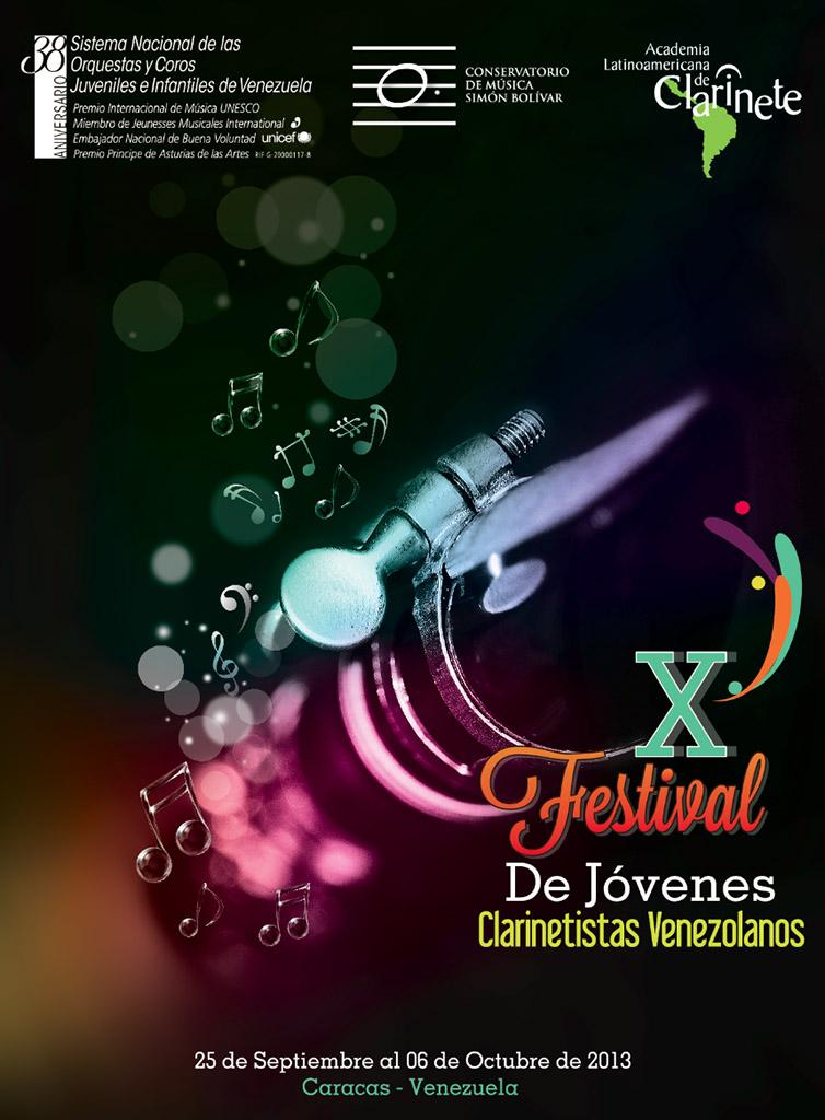 X Festival de Jovenes Clarinetistas Venezolanos