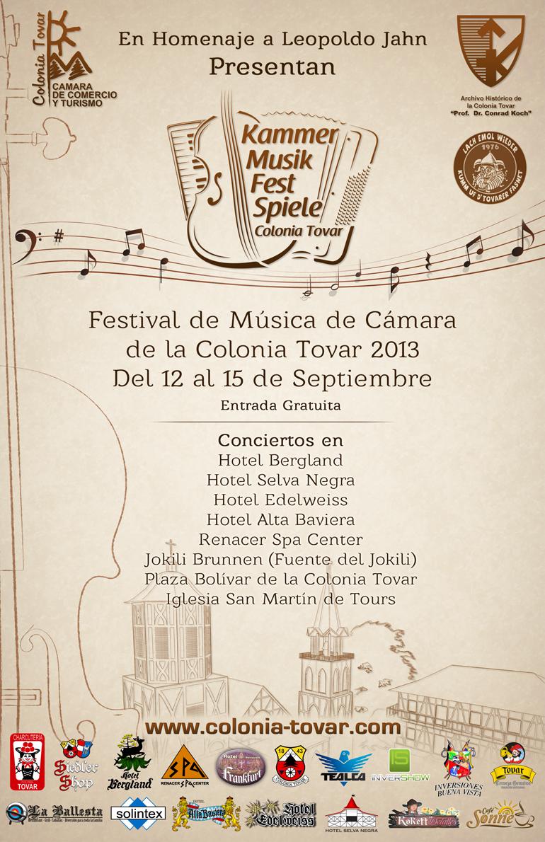 El Kammermusikfestspiele Colonia Tovar 2013