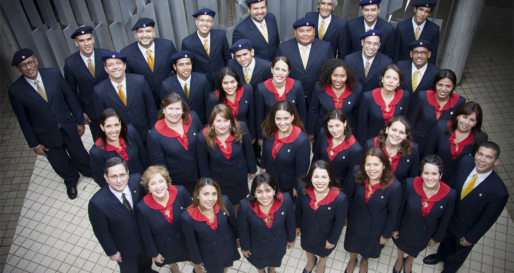 Orfeón Universitario UCV en el Salón Siglo XXI
