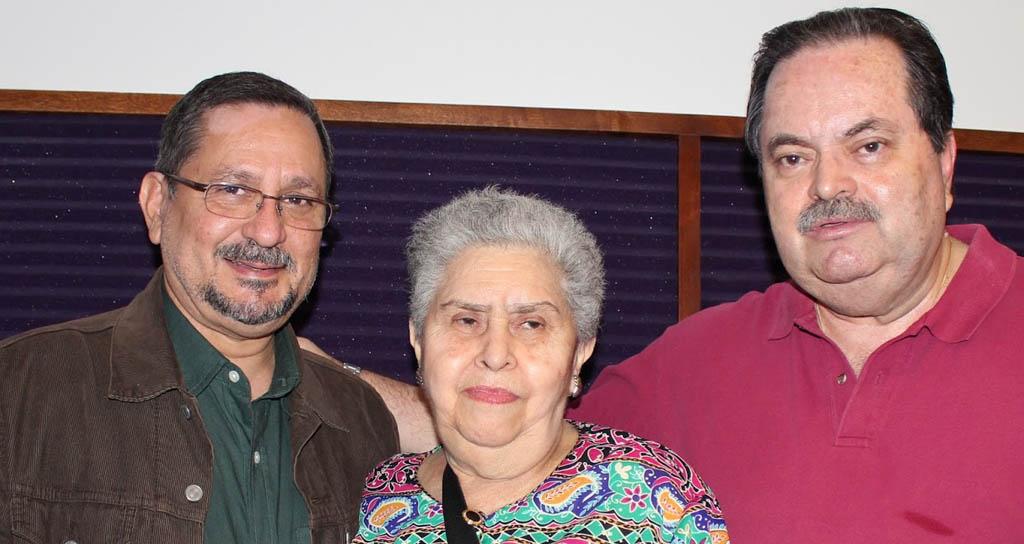 Fernando Peñalver, María Colón,  Prof. y Locutor Germán Alirio Luna