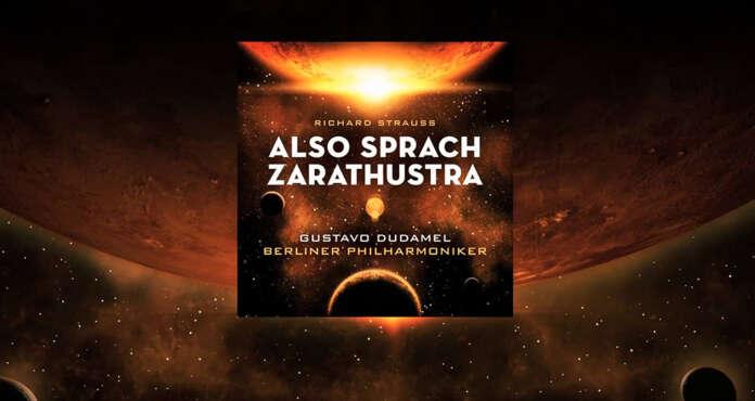 """El director de orquesta venezolano, Gustavo Dudamel, presentó su disco bajo el sello que lo representa, """"Deutsche Grammophon"""