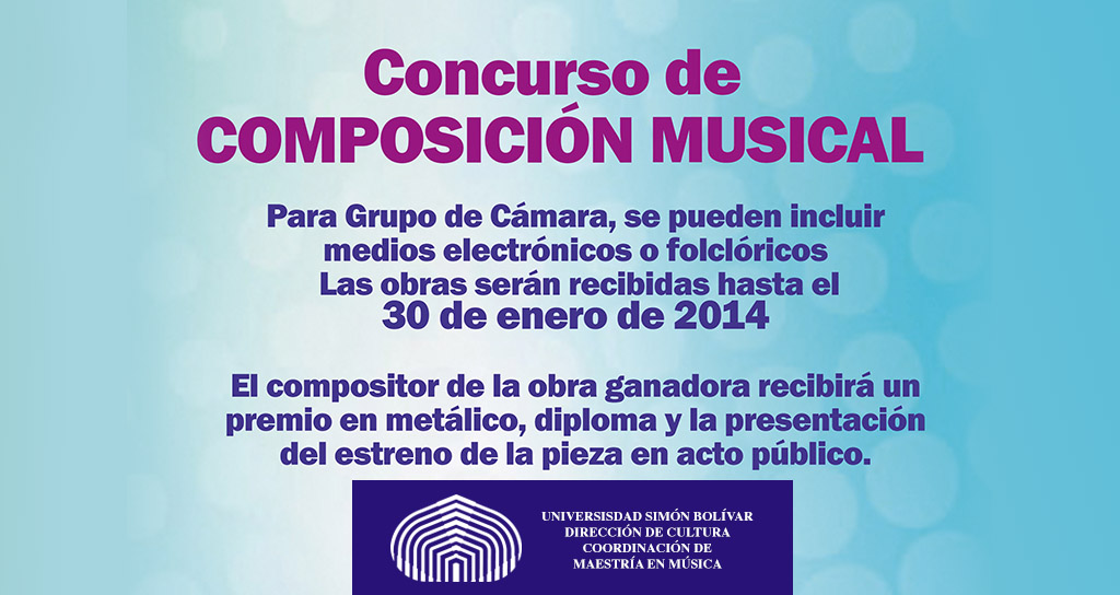 Concurso de Composición Musical USB