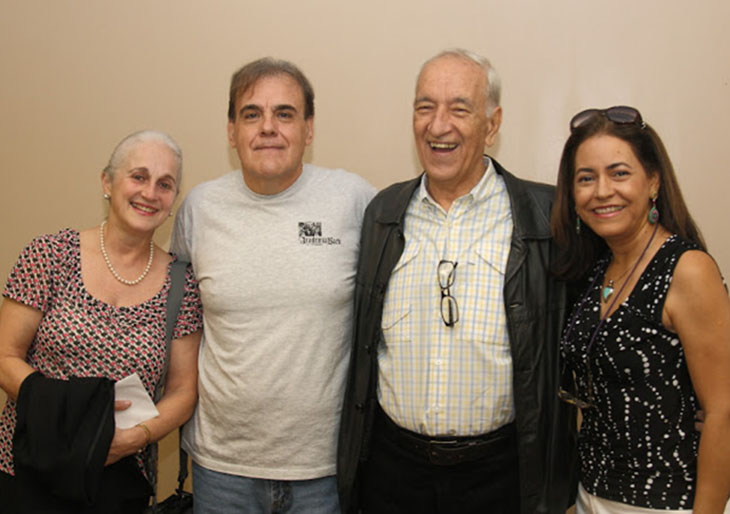 Desde la izquierda: María Guinand, Emilio Solé-Sempere, Alberto Grau y Venus Suárez