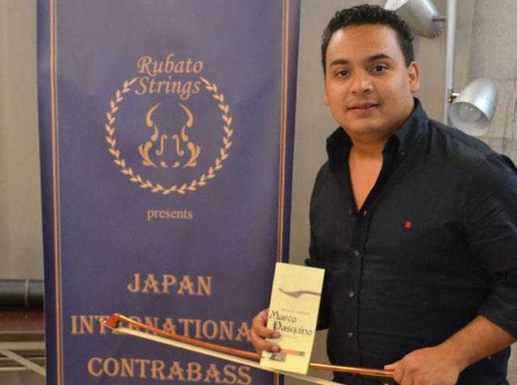 """Óscar Luque se adueñó del 1º lugar del Concurso Internacional de Contrabajo """"Rubato Strings"""""""