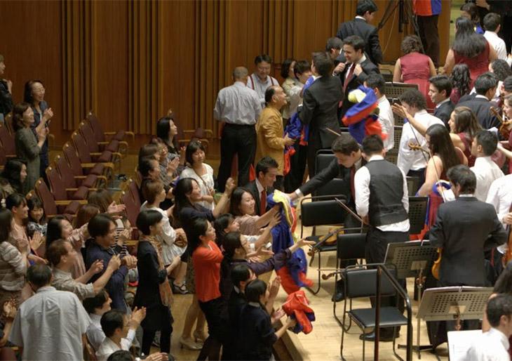 La Sinfónica Juvenil de Caracas se despide de Japón