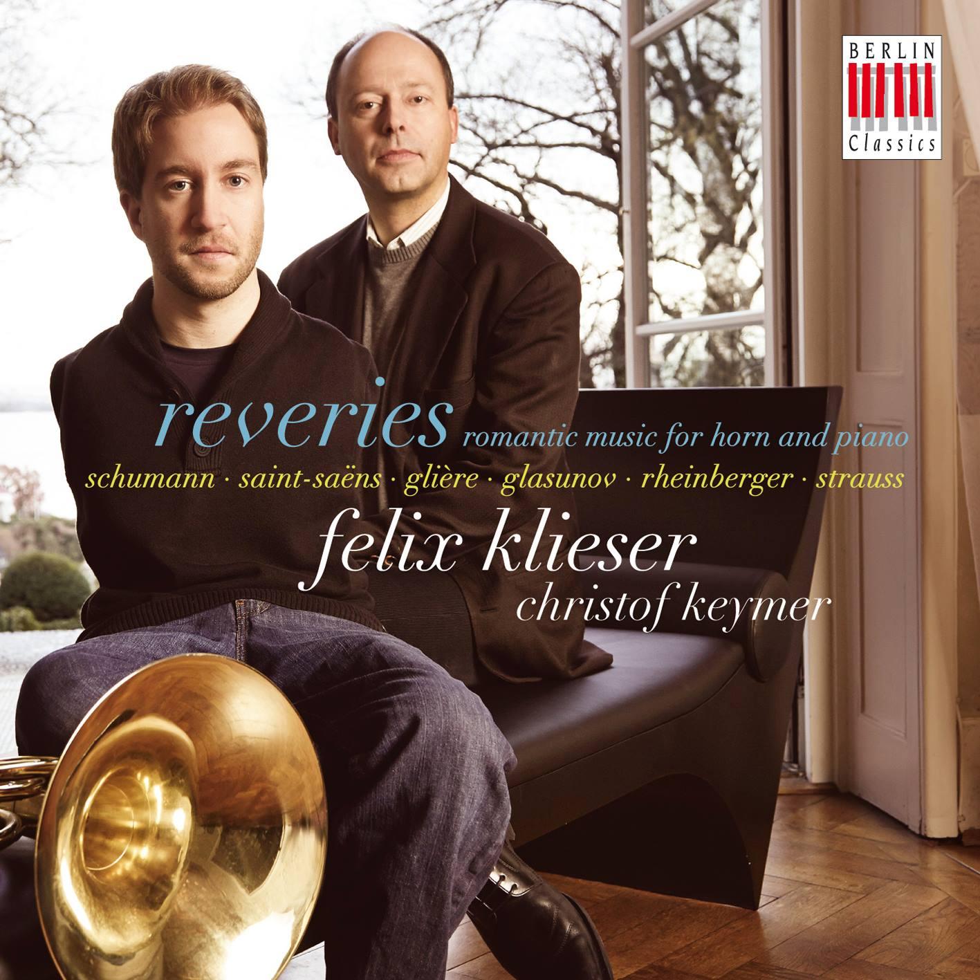 "Portada del disco ""Reveries"", primer álbum como solista de Felix Klieser."