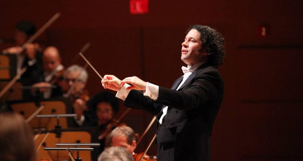 Gustavo Dudamel electriza a la Filarmónica de Viena