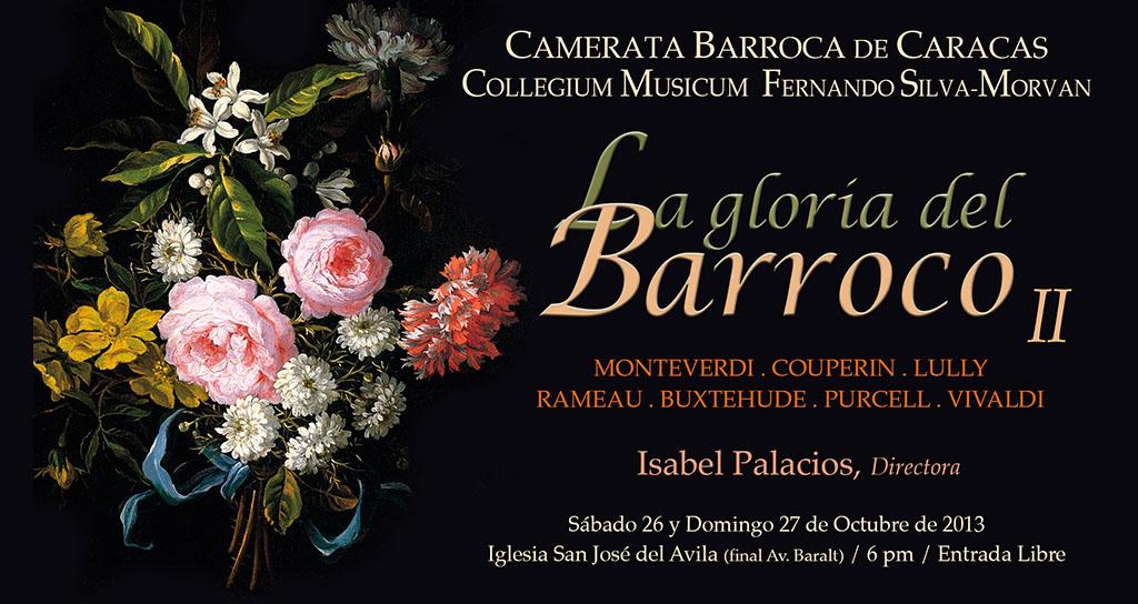 """La Camerata de Caracas celebra el 35 Aniversario con """"La Gloria del Barroco II"""""""