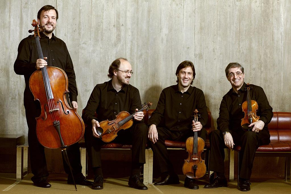 Sergei Lomovski y Borodin Quartet