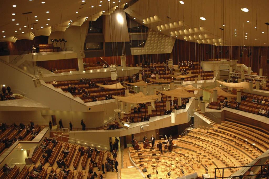 El Templo de la Música, Filarmónica de Berlín