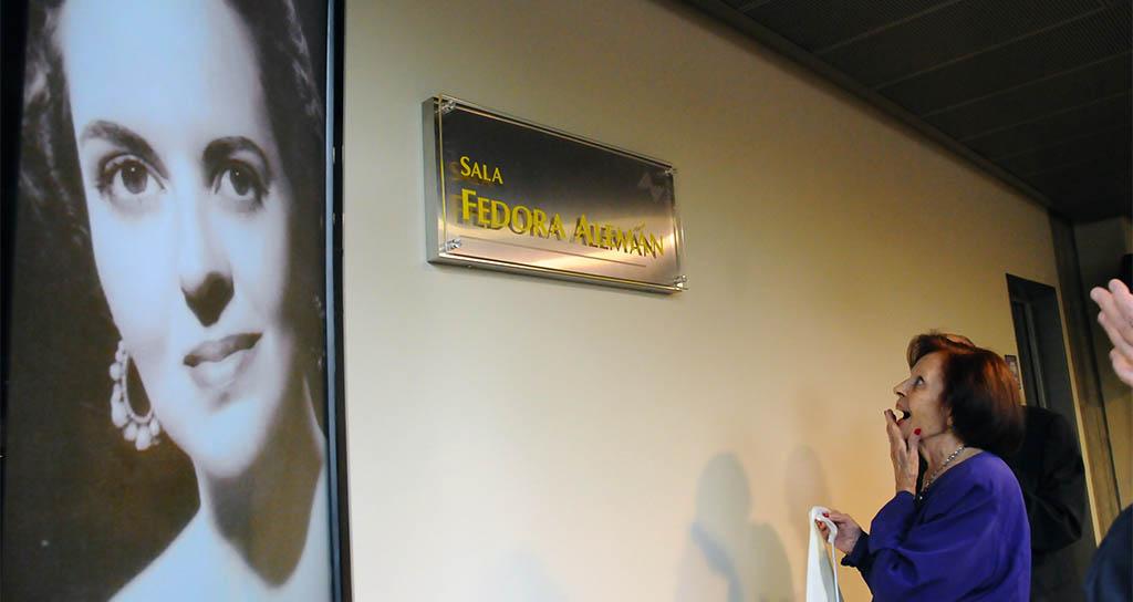 """Fedora Alemán: La """"Gran Dama del Bel Canto"""" cumple hoy 101 años de vida"""