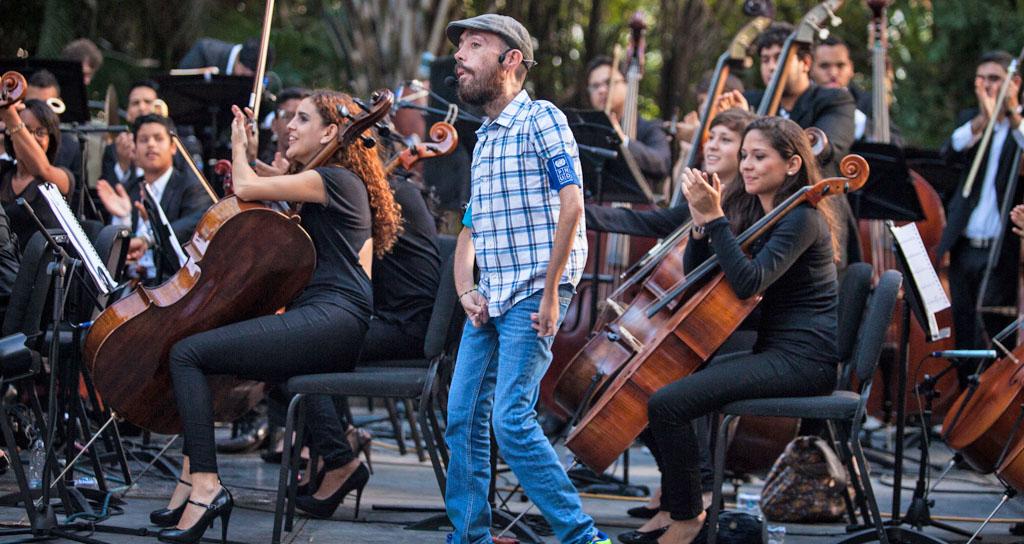 Caracas se llenó de música, unión y paz