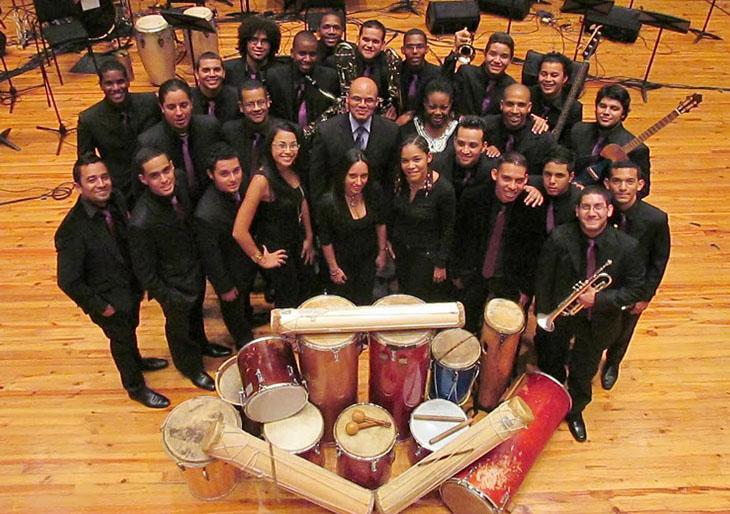 PDVSA La Estancia recibe a la Orquesta Afro-Venezolana Simón Bolívar