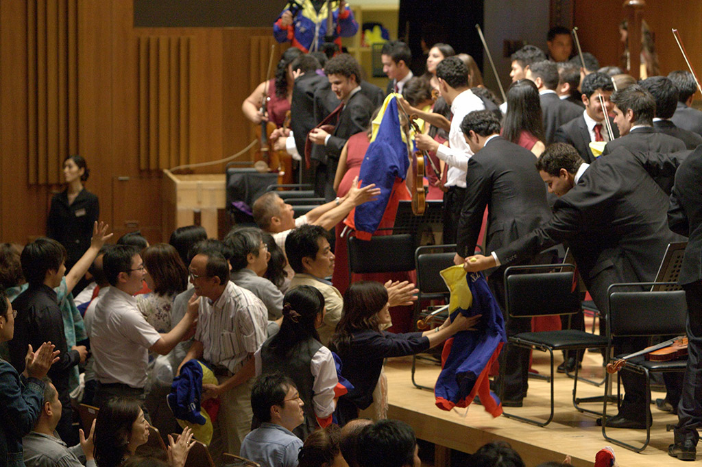 La Sinfónica Juvenil de Caracas (SJC) triunfó en Tokio. Con tres conciertos en el Metropolitan Arts Space