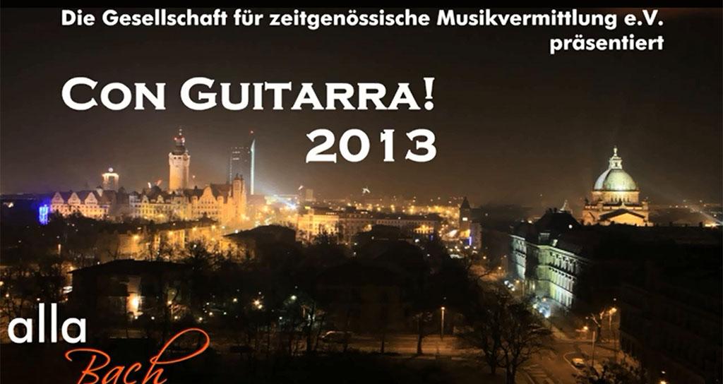 """El compositor y guitarrista venezolano Sef Albertz presenta """"Con Guitarra!"""" 2013"""