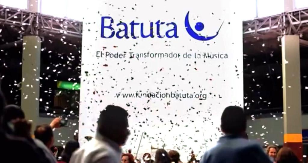 La Orquesta Sinfónica Metropolitana Batuta realizó un flashmob en la Terminal de Bogotá