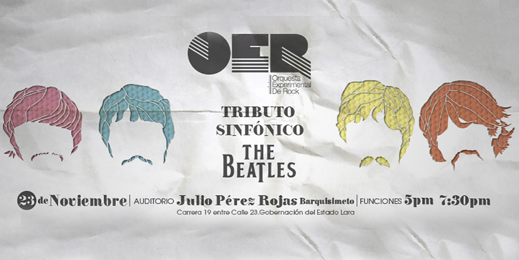 "Orquesta Experimental de Rock rinde Tributo Sinfónico a ""The Beatles"""
