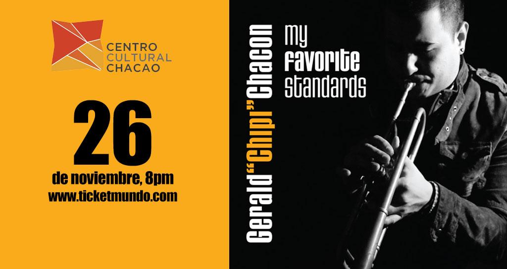 Gerald «Chipi» Chacón ¡Una noche con el mejor jazz!