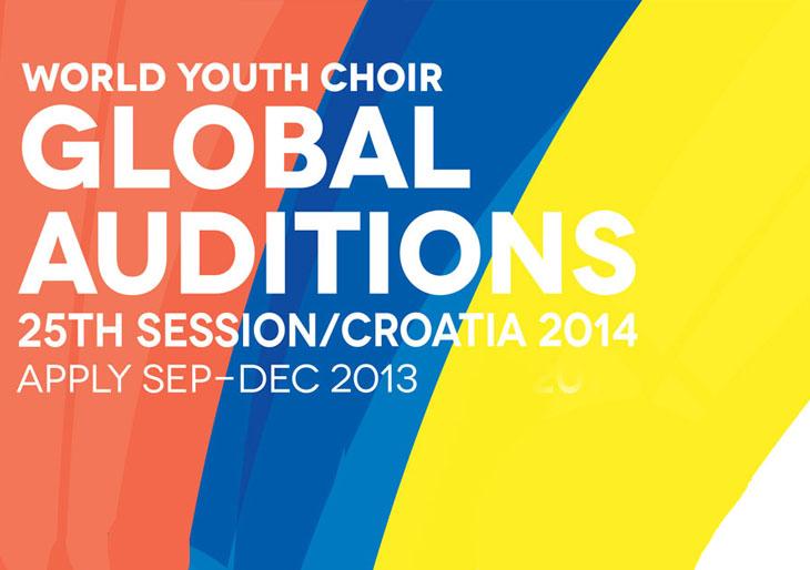 Audiciones Nacionales en Venezuela del Coro Mundial Juvenil