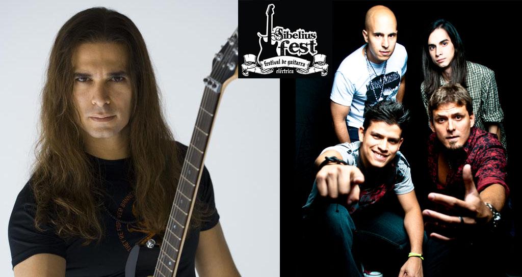 Todo listo para la fiesta de la guitarra eléctrica: SIBELIUS FEST 2013