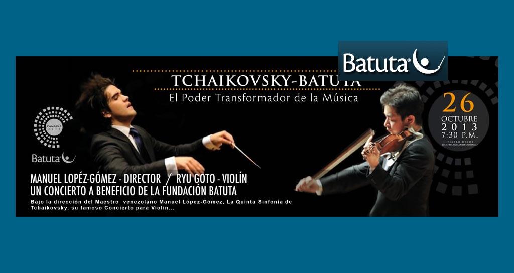 Manuel López-Gómez, la Orquesta Sinfónica Metropolitana Batuta y la participación del solista japonés Ryu Goto