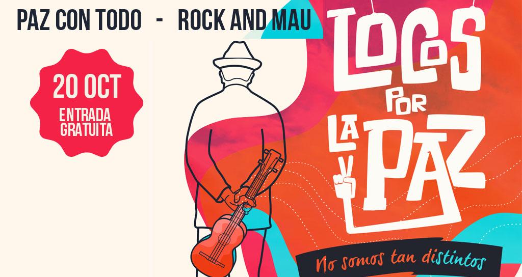 RockandMAU y El Sistema Nacional de Orquestas y Coros Juveniles e Infantiles de Venezuela tocarán juntos en el IV concierto Locos por la paz