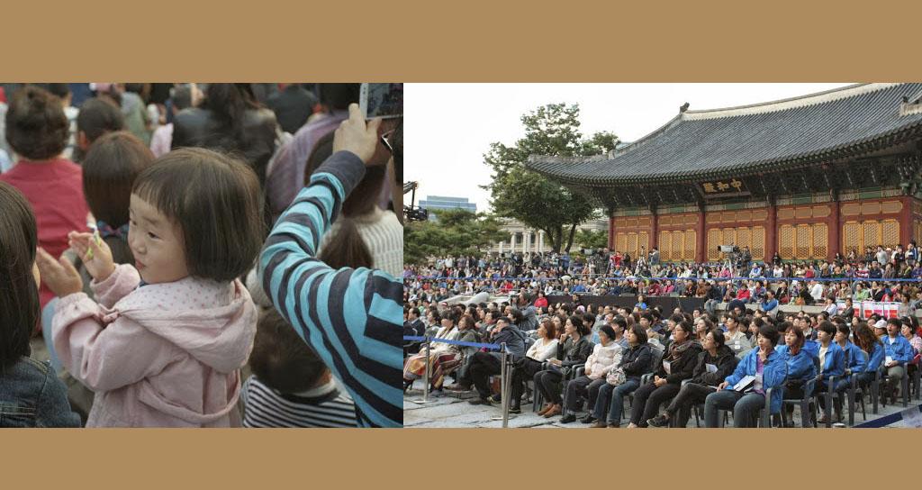 Una dinastía criolla de músicos se unió a la infancia coreana para despedir la Gira Asia 2013