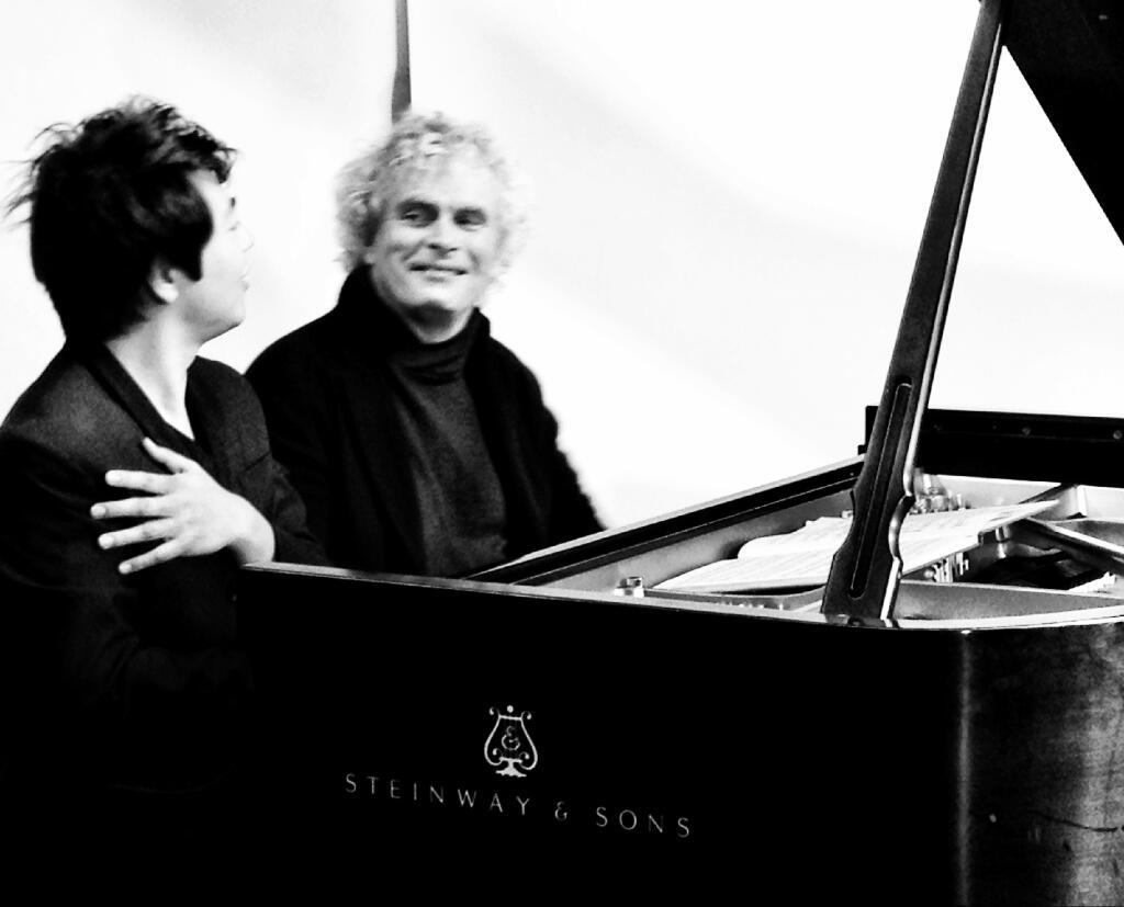 Lang Lang y Simon Rattle, tempo giusto Prokófiev, Bartok
