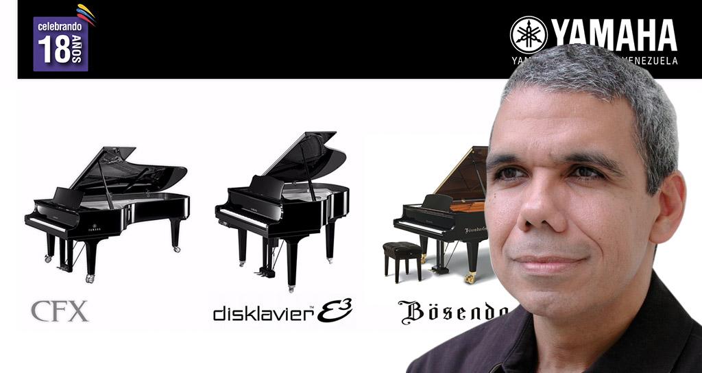 """""""Preludio"""" celebra al piano en 25 días de festival junto a """"El Sistema"""" y Yamaha Venezuela"""