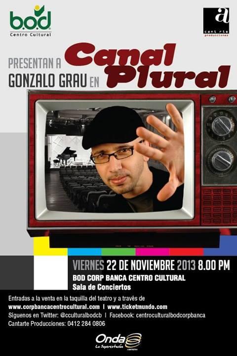 Canal Plural es Gonzalo Grau