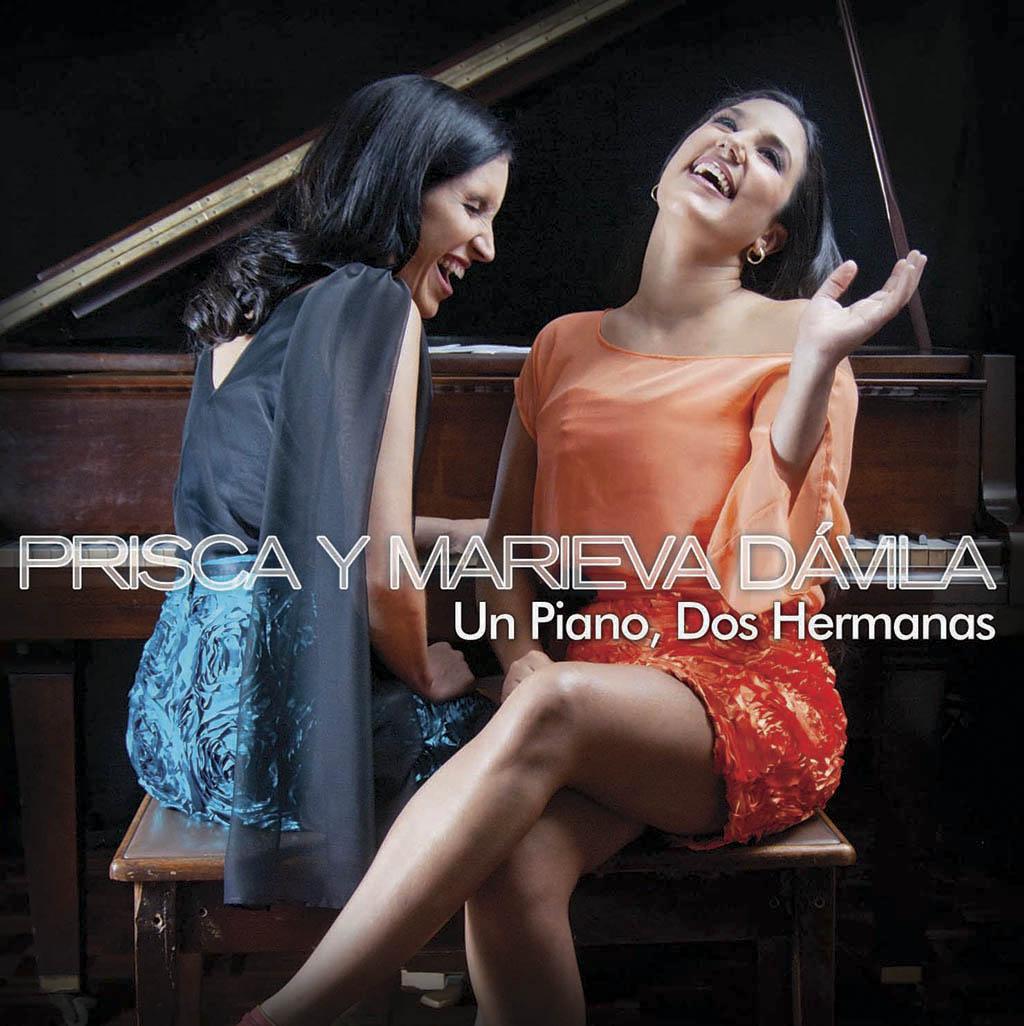 """Prisca y Marieva Dávila presentan su primer disco juntas """"Un piano, dos hermanas"""""""