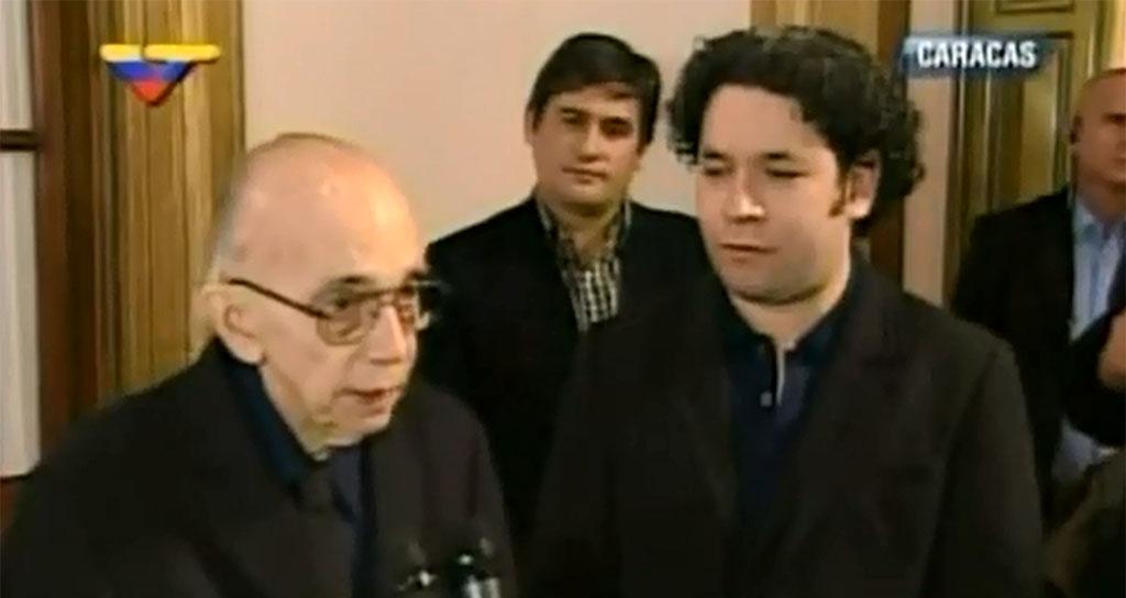 Maestro Abreu anunció la construcción de la Sala Dudamel en Barquisimeto (+video)
