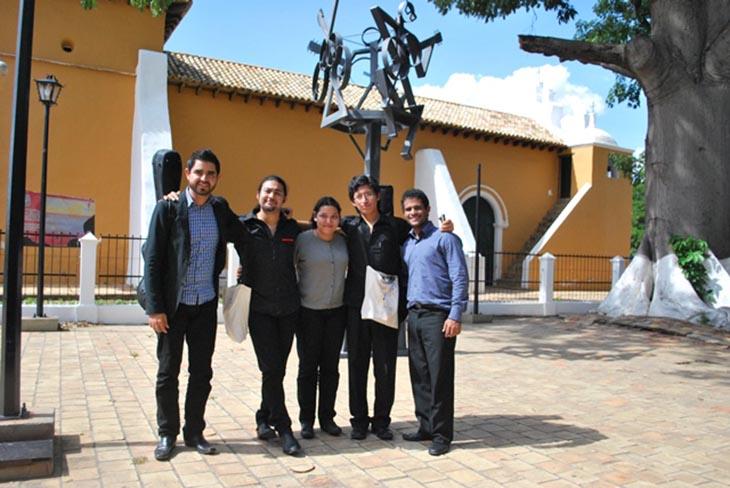 Los semifinalistas del  17vo Concurso Internacional de Guitarra Alirio Díaz