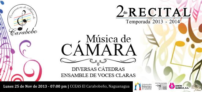 2do Recital de Música de Cámara del Conservatorio de Música de Carabobo