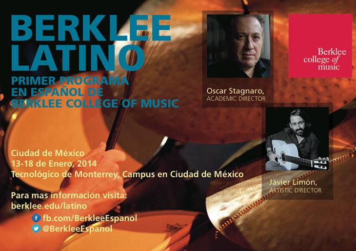 """El programa """"Berklee Latino"""" se estrena en México"""