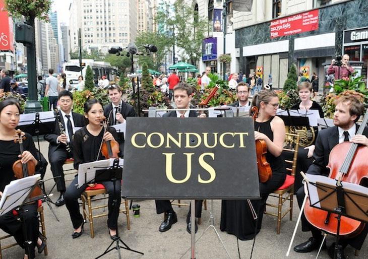 """La orquesta del Carnegie Hall de Nueva York estrenó """"Dirígeme"""""""