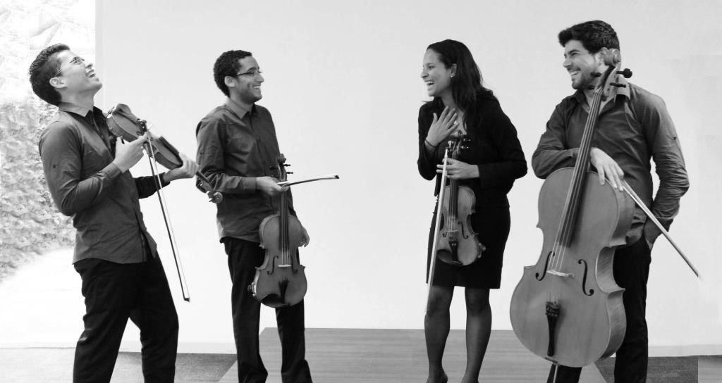 El Cuarteto Arsen debuta en la Hacienda La Vega