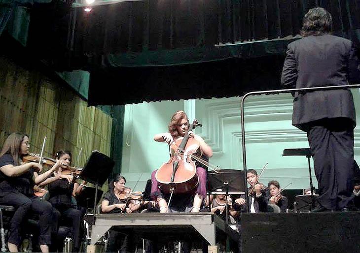 Falcón realizó Primer Festival de Violoncello 2013