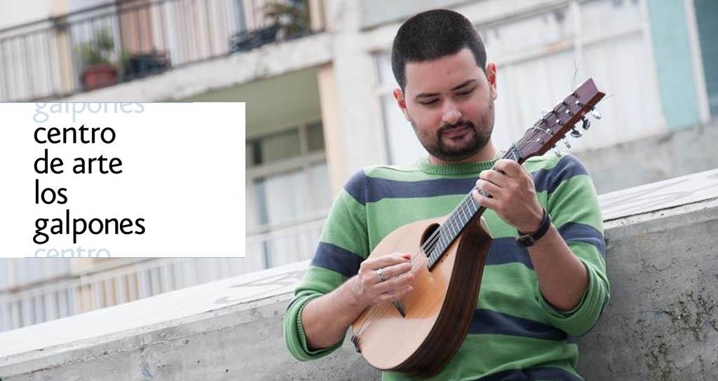 La mandolina de Jorge Torres llega al Centro de Arte Los Galpones el Vienes 29 de noviembre