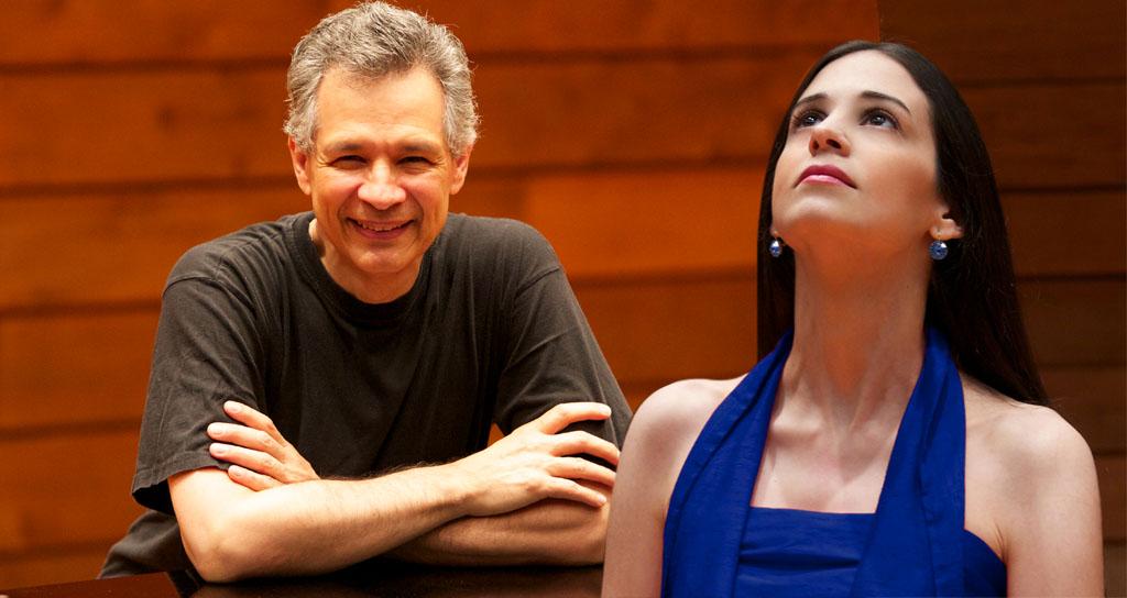 David Ascanio y Karina Ochoalcalá en el Festival El Piano y los Períodos de la Música