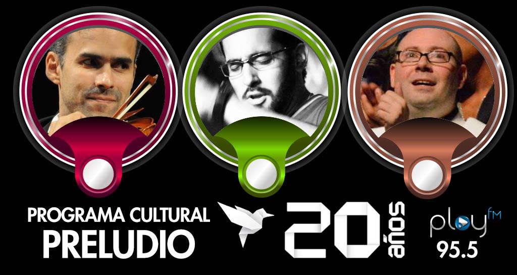 """Programa Cultural """"Preludio"""", un domingo de discos y Festivales"""