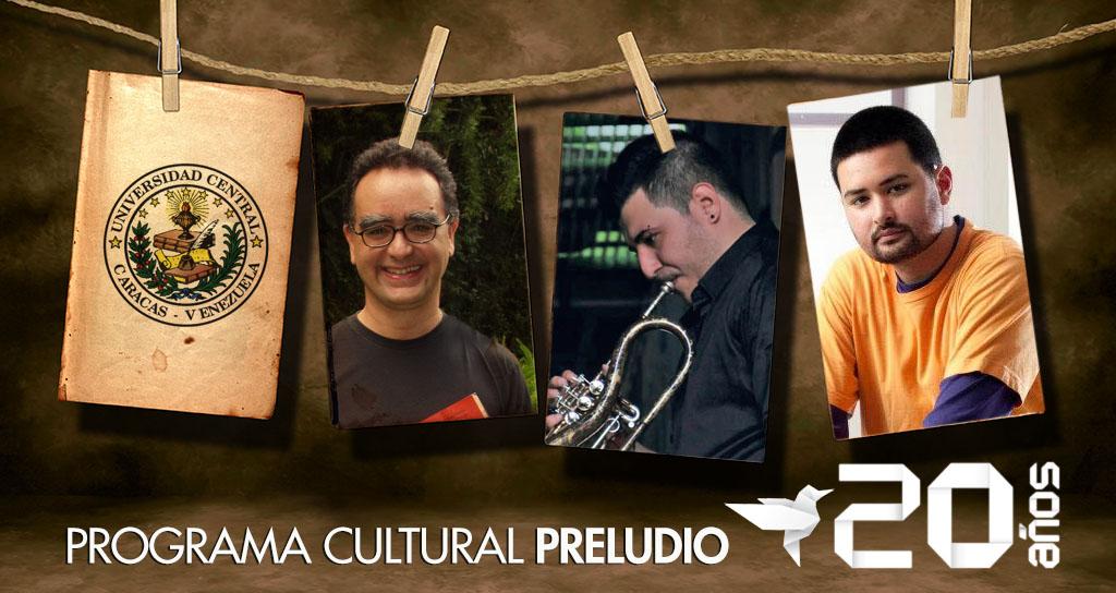 """Los Domingos son del Programa Cultural """"Preludio"""""""