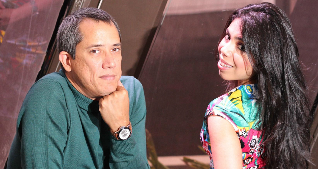 Andrés Roig y Betzabeth Talavera
