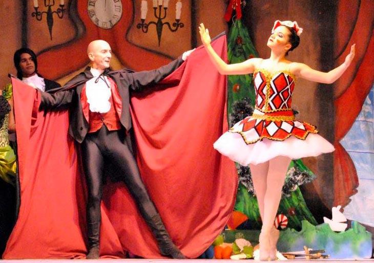 Este año El Cascanueces de Ballet de la Mar tendrá dos escenarios
