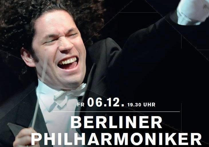 El clamor del mundo en la melena de Gustavo Dudamel, en vivo por la web